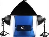 50CM摄影棚摄影灯套装+广口灯具+顶灯柔光箱+拍摄台+背景布道