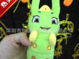 糖宝同款个性充电宝创意礼物灵虫毛绒玩偶移动电源充电宝厂家直销