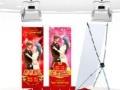 婚庆广告 拱门 音响 婚庆布置
