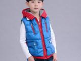 2015儿童加厚棉马甲 中小童秋冬季棉马甲 男童时尚外贸棉马甲