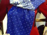 2014欧美经典时尚印梅花百搭长围巾 活性印花围巾