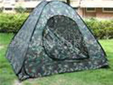 厂家供应 自动野外迷彩帐篷 专业生产 可批发