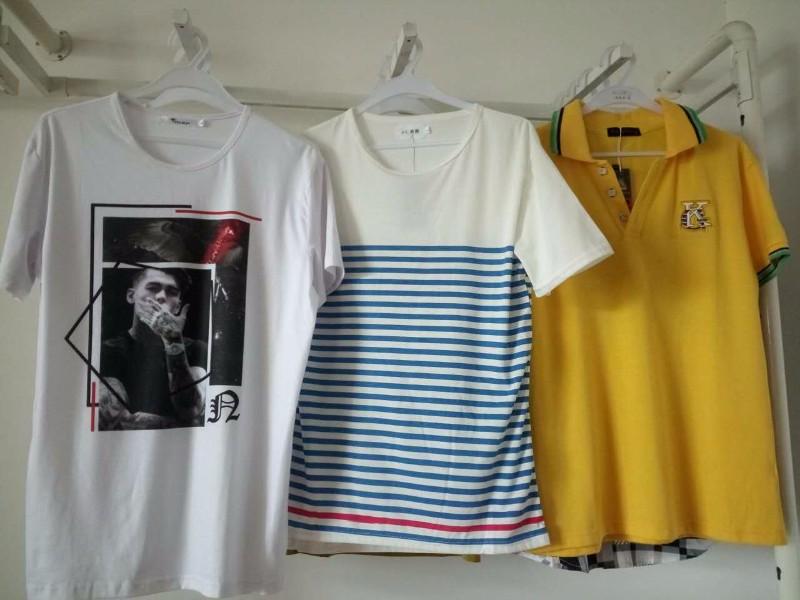 佛山衣服批发货源哪里好夏季男女T恤服装批发童装中老年服装批发
