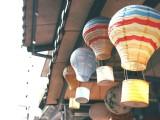 折迭紙燈籠 20CM熱氣球紙燈籠櫥窗裝飾 手工紙燈籠