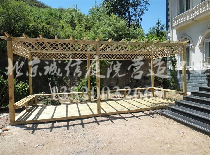 房山别墅庭院设计施工,专业打造私家花园绿化设计施工!
