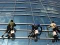 专业高空清洗、外墙清洗、玻璃清洗蜘蛛人高空作业服务