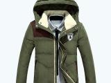冬季男士羽绒服高档英伦风品牌男装新款批发零售一件代发1405