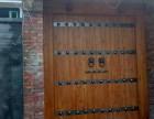西安仿古大门供应 西安老榆木大门价格尺寸 西安中式老榆木大门