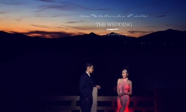 环县金夫人婚纱摄影《唯美夜景》