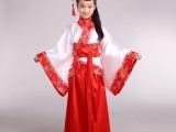 新款61儿童古装唐装表演服汉服男女国学班书生书童服演出服定制