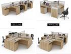 屏风工作位简约现代员工桌椅2人位6人隔断桌电脑桌厂家直销