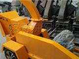 娄底批发移动式木材破碎机-移动木头粉碎机厂家