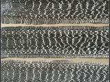 厂家热销 凹凸蛇纹皮革 高光蛇纹皮革 环