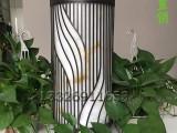 世界灯都中山古镇特色柱头灯圆柱形柱头灯新中式复古草地灯定制
