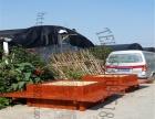 防腐木花箱花盆米斗型花槽移动花桶实木阳台花台