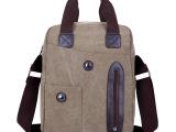 2014较新款JFLFB-007 帆布手提商务单肩包男包欧美风包