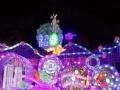 厂家直销圣诞树 灯光展 各种暖场活动道具制作