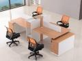 办公桌椅4人位简约现代办公家具组合2人位员工卡位屏风办公桌