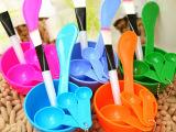 DIY调面膜美容美妆用品工具套装4件套装组合面膜碗面膜棒面膜刷