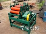 小型压平机5-13辊轴立式电动滚平机厂家可定制