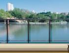 华禹锌钢玻璃阳台护栏厂家直销