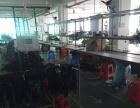 福永塘尾靠沿江高速楼上1000平米精装修厂房出租