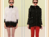 欧美女装  欧麦娅冬装外套特价批发 品牌折扣走份 品牌折扣女装