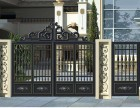 铝艺大门天津市定制 铝艺围栏 欧式别墅铝艺大门
