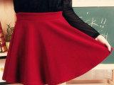 2014较经典款 糖果色时尚爆款韩版太阳裙百褶裙半身裙短裙 批发