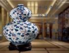 陶瓷礼品,景德镇青花瓷花瓶,手绘青花瓷葫芦瓶