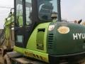 现出售二手现代60轮挖挖掘机