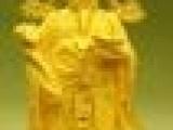 财神到24K黄金财神摆件绒沙金财神大家居工艺品办公室摆设开业礼