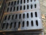 球磨铸铁单篦子300 500 排水沟盖板