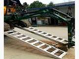 盐城大象牌4米轮履机械专用高强度铝合金跳板