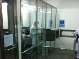 洁净棚,钢化玻璃千级洁净棚。防静电软帘洁净棚、