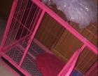 狗笼粉色双门+天窗