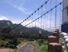 景区设有丛林设备 玻璃吊桥生产加工 吊桥安装价格