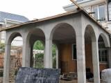北京别墅土建施工公司别墅露台浇筑别墅钢结构露台搭建