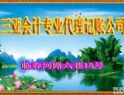 三亚河东区会计代理记账策划公司