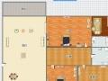 义乌附近凤山水岸豪华装修3房2厅2卫,只需2800