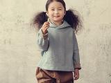 韩国进口童装2014春季新款可爱长帽童卫衣韩版童装