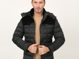 中老年棉衣男冬装休闲加厚保暖棉衣外套带帽可脱卸男装棉袄爸爸款