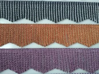 扭排 绳排 双色波浪形