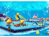 厂家供应定做支架水池户外充气水池儿童乐园水滑梯设备