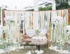 户外纯白草坪婚礼 Mint Green 新娘跟妆司仪摄影摄像