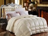 供应 羽绒被加厚保暖羽绒被子96白鹅绒冬被芯皇室贵族真丝