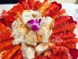 中秋佳节家宴自助餐围餐酒会冷餐会烧烤高端西餐位上