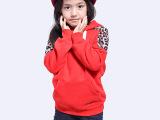 2013秋冬款童装女童秋冬装韩版时尚卫衣童外套加绒儿童上衣冬装