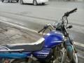 铃木125跨骑摩托车低转