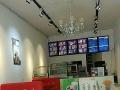 曹植公园北门 香港步行街100号 六块吧奶茶汉堡店